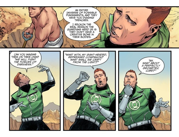 Guy Gardner Mocks The Guardians Of The Universe (Injustice II)