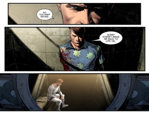 Hal Jordan Feels Guilty About Guy Gardner (Injustice II)