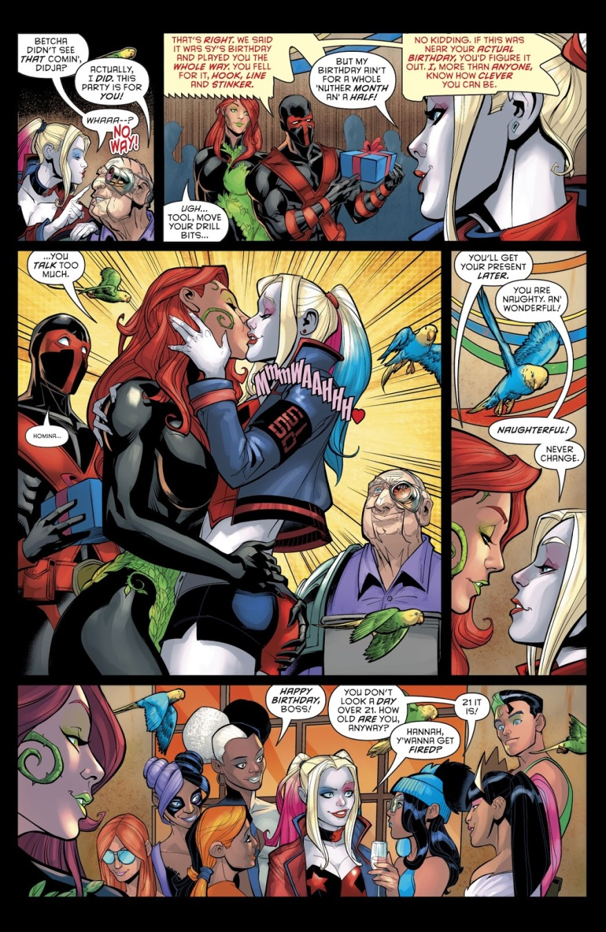 Poison ivy and harley quinn sex