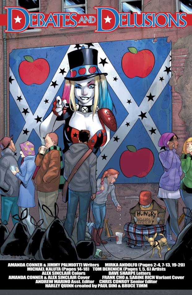 Harley Quinn For Mayor Poster