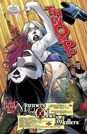 Harley Quinn Knocks Out Harley Sinn