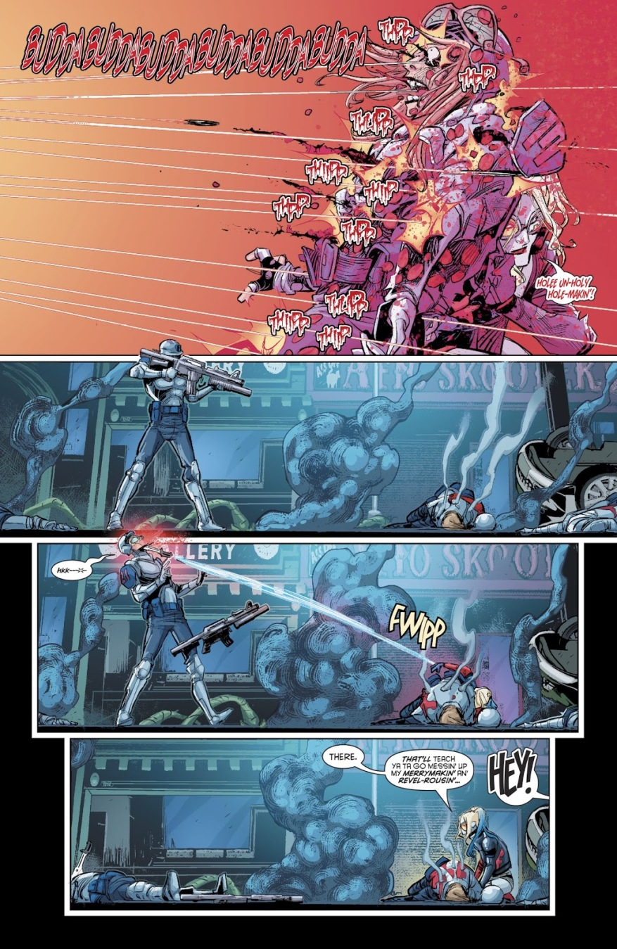 Harley Quinn VS The Unconquerable 25