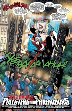 Harley Quinn's Campaign Platform For Mayor Of New York