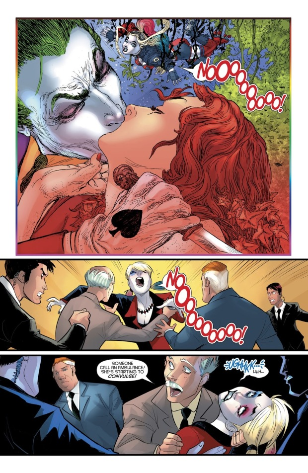 Harley Quinn's Hallucinations From Fear Gas