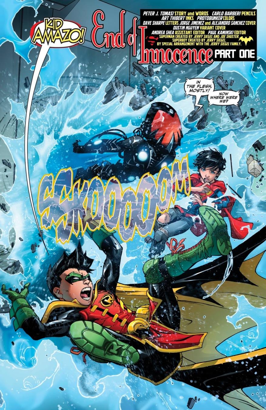 Kid Amazo (Super Sons #15)