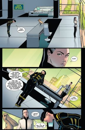 Laura Kinney As Queen Of Madripoor