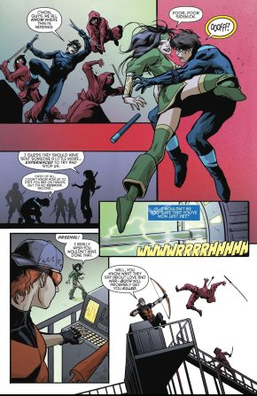 Nightwing VS Cheshire (Rebirth)