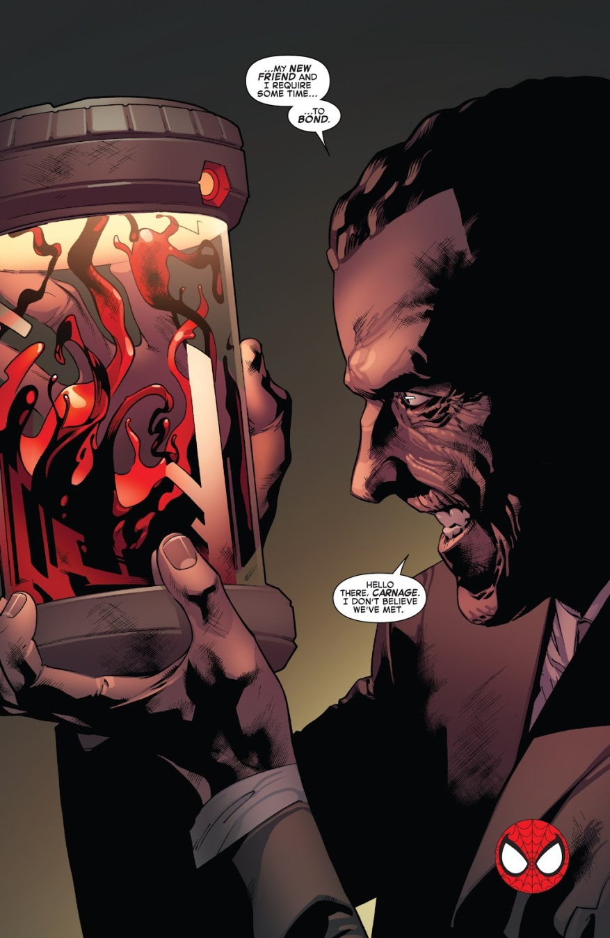 Norman Osborn Steals The Carnage Symbiote