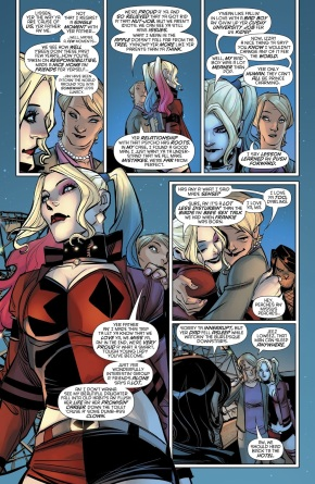 Relationship Advice From Harley Quinn's Mother
