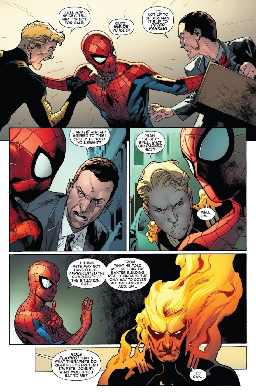 Spider-Man VS The Human Torch