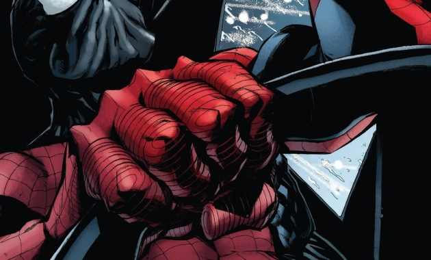 Spider-Man With The Maniac Symbiote