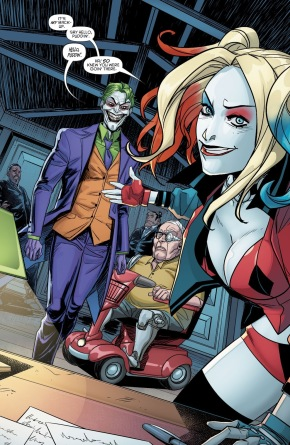The Penguin Is Afraid Of The Joker (Harley Quinn Vol. 3 #27)