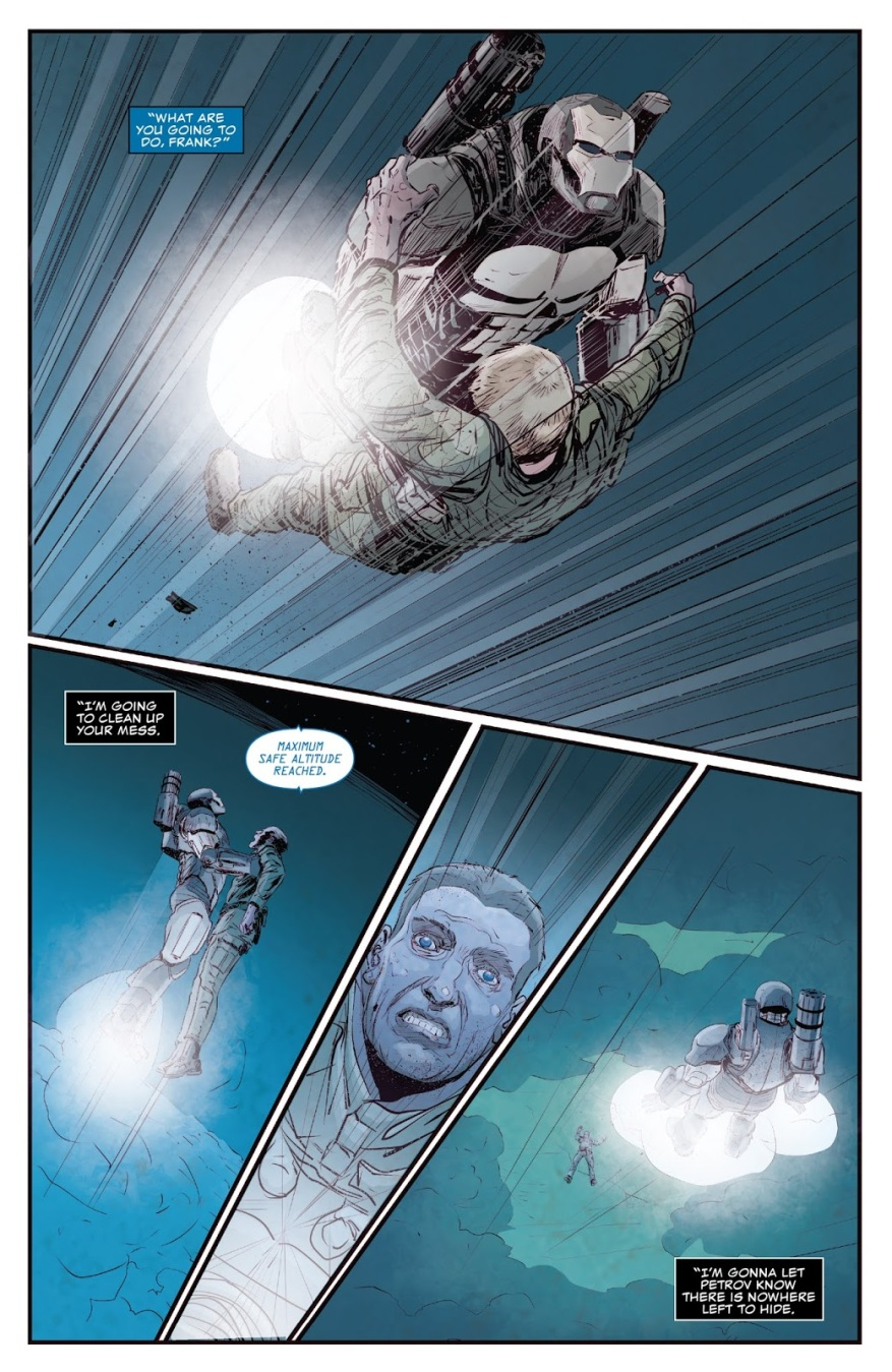 The Punisher Kills Petrov's Inner Circle