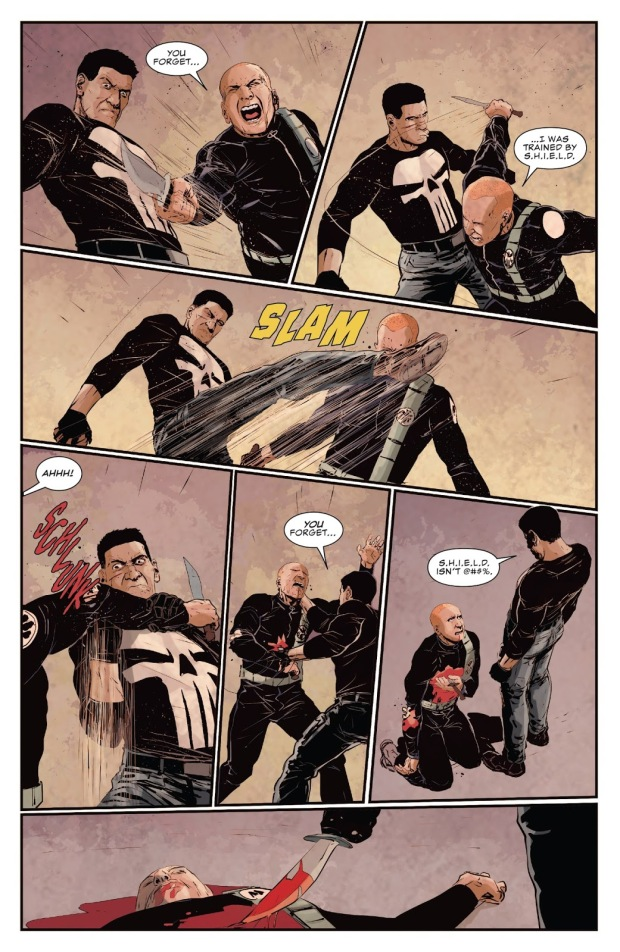 The Punisher Thinks SHIELD Is Shit