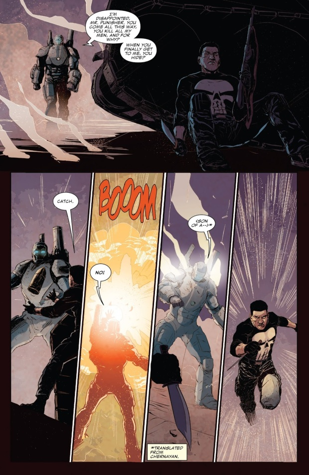 The Punisher VS A War Machine Armor