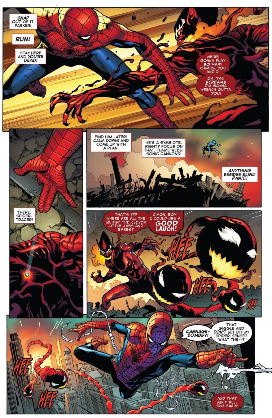 The Red Goblin Beats Spider-Man