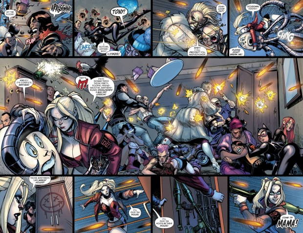 The Unconquerable 25 Ambushes Harley Quinn