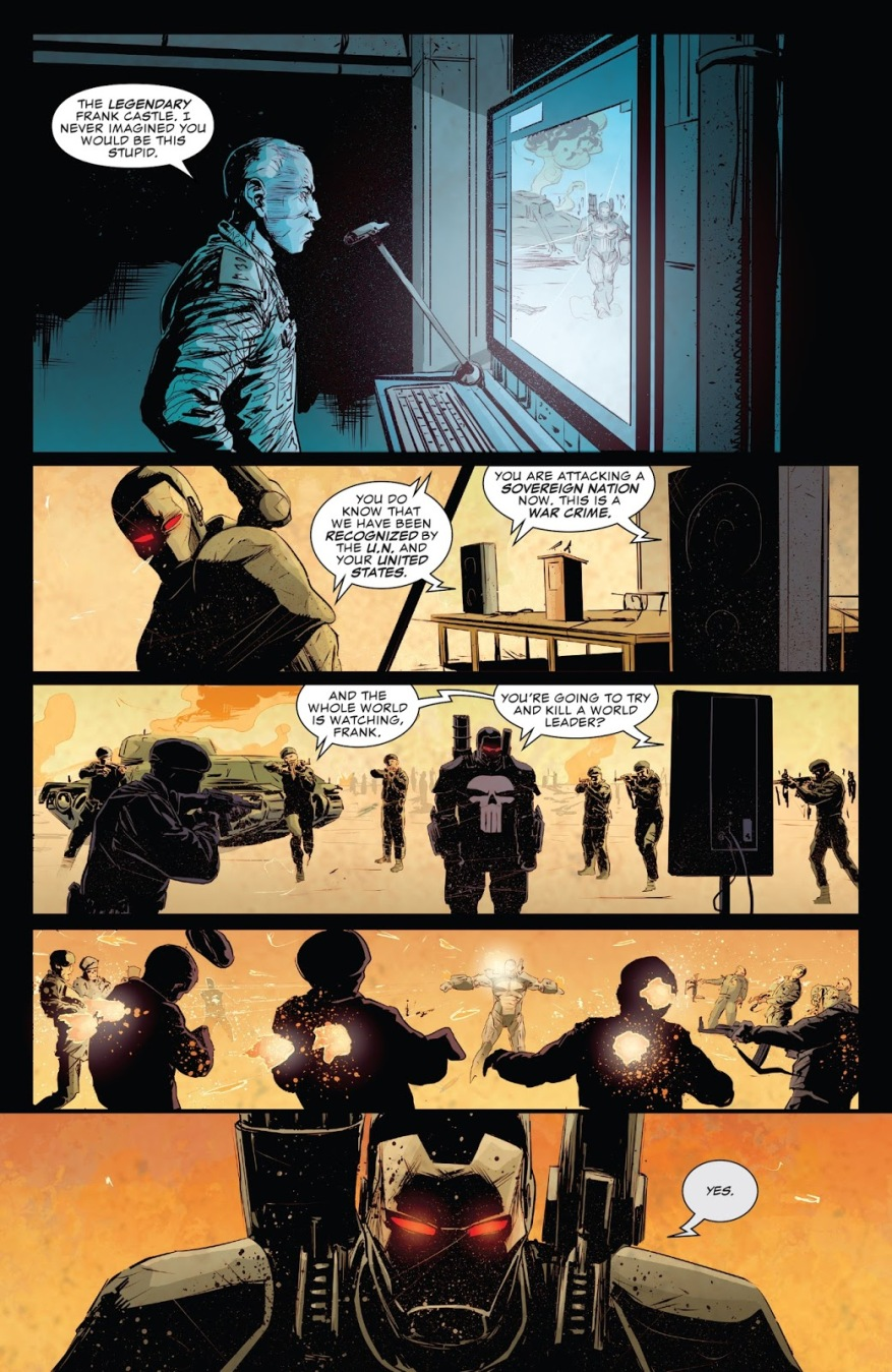 War Machine Punisher Destroys An Army