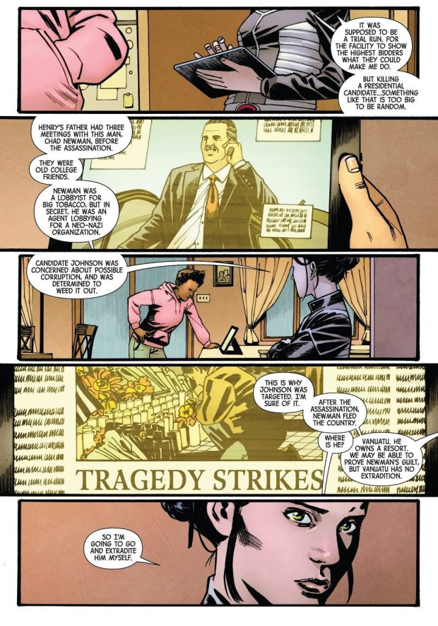 X-23 Assassinates A Senator