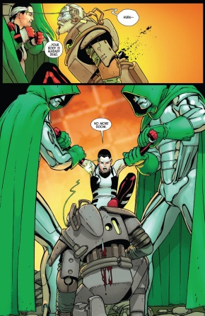 All New Wolverine Kills Doctor Doom