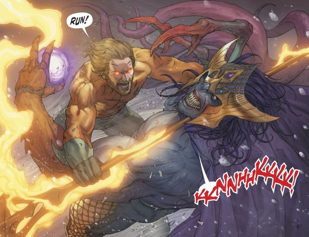 Aquaman And Corum Rath (Aquaman Vol 8 #36)