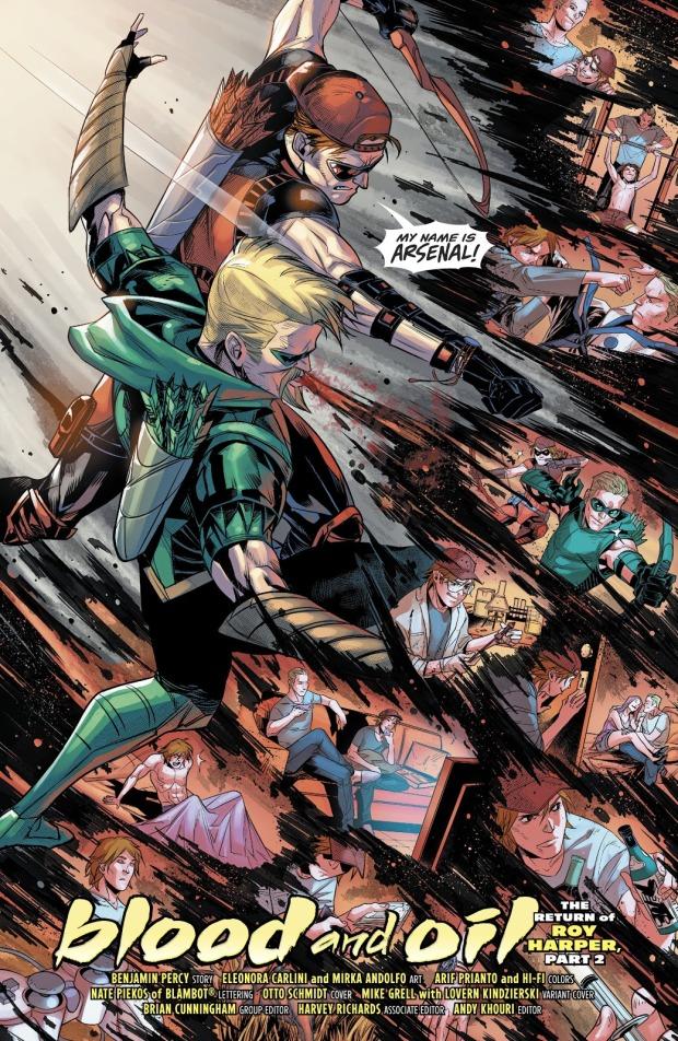 Arsenal (Green Lantern Vol 6 #19)