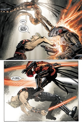 Cade Skywalker Spars With Darth Talon