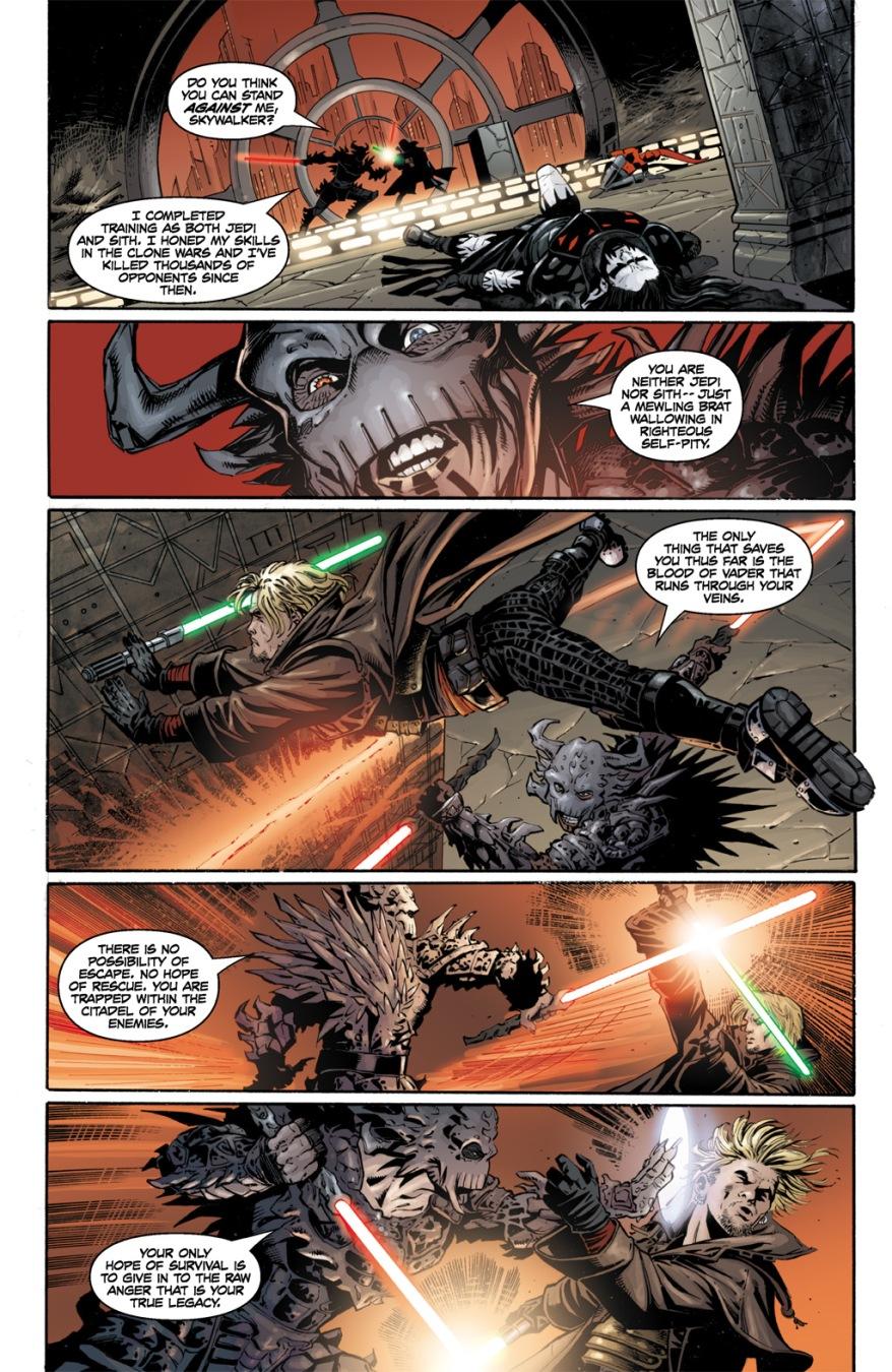 Cade Skywalker VS Darth Krayt