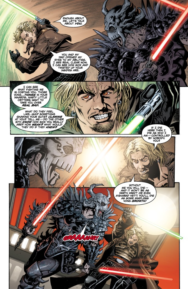 Cade Skywalker VS Darth Krayt
