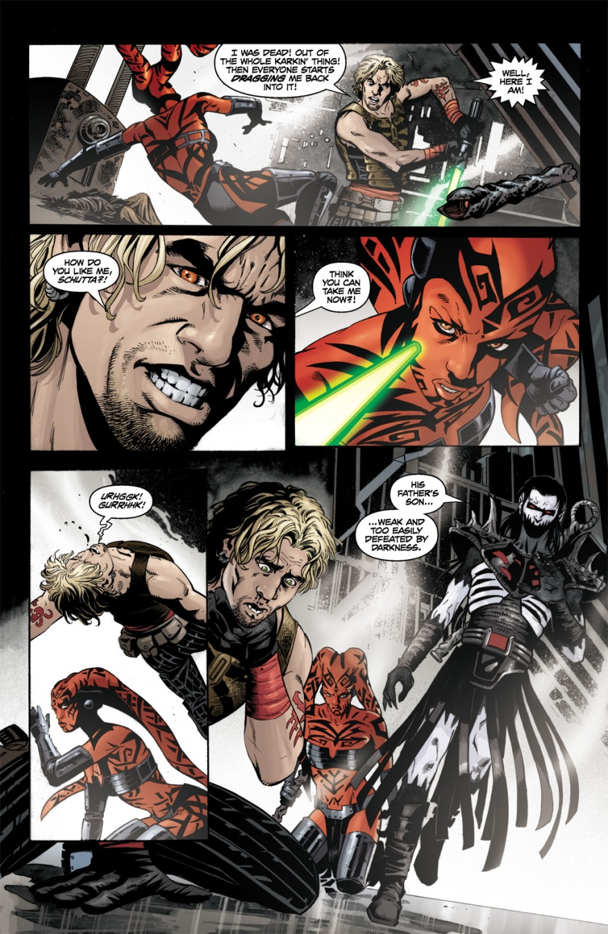 Cade Skywalker VS Darth Talon