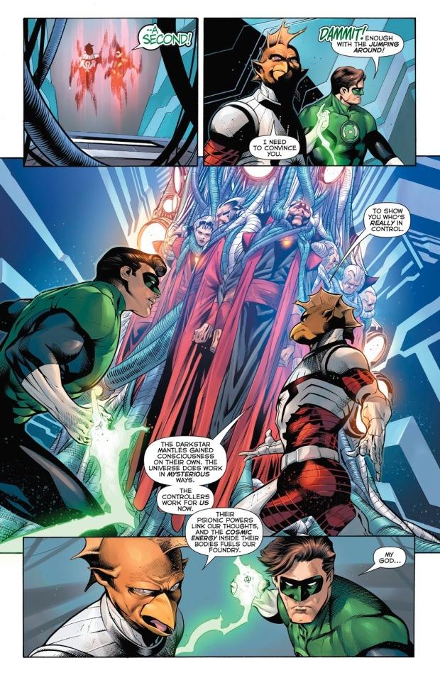 Darkstar Tomar-Tu Tries To Recruit Hal Jordan