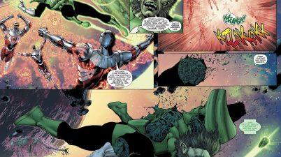 Darkstars Kill Green Lantern Weggett
