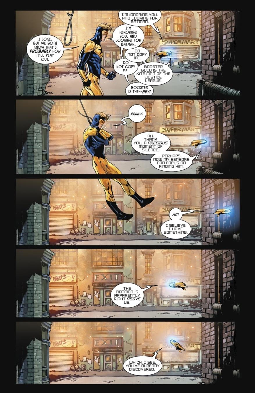 Dick Grayson As A Batman With Guns