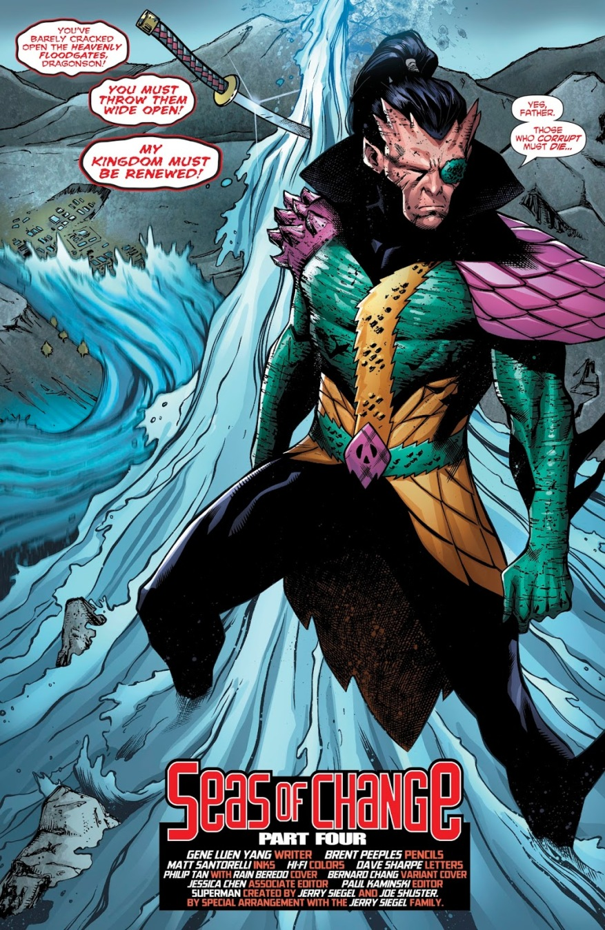 Dragonson (New Super-Man #23)
