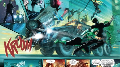 Green Arrow And Black Canary VS The Vice Squad