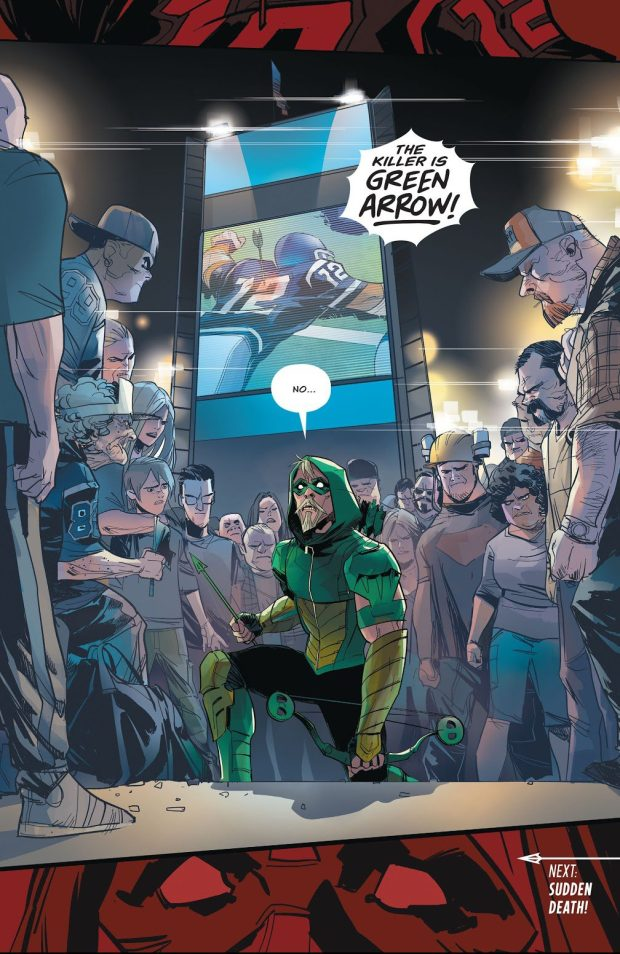 Green Arrow Vol 6 #13