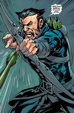 Green Arrow VS Dark Archer (Rebirth)