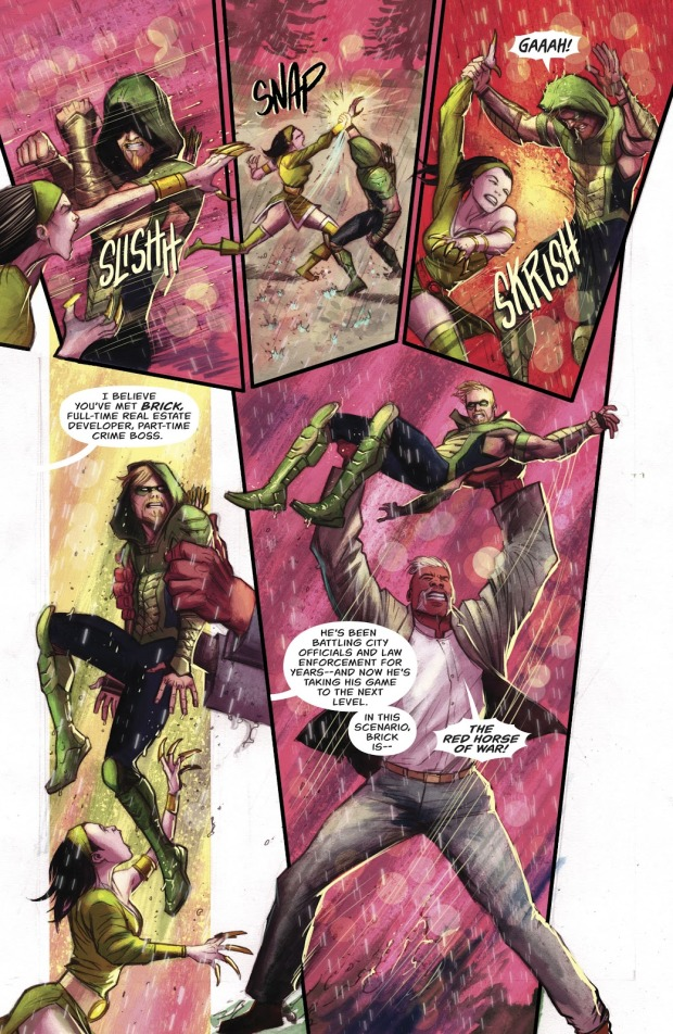 Green Arrow VS The 3 Horsemen