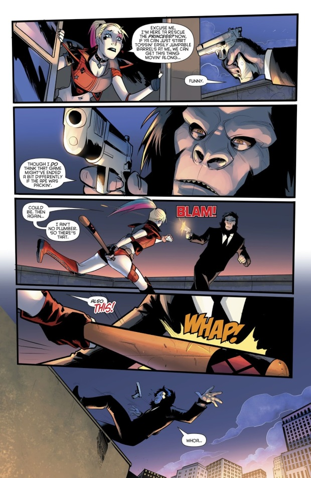 Harley Quinn VS The Gorilla Gang