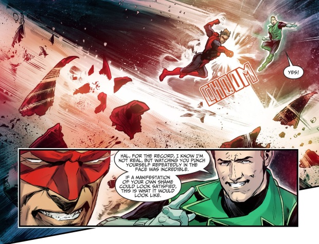 How Hal Jordan Broke Free From Starro (Injustice II)