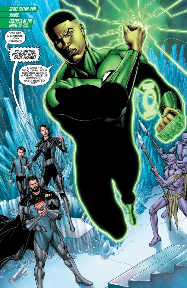 John Stewart (Hal Jordan And The Green Lantern Corps #45)