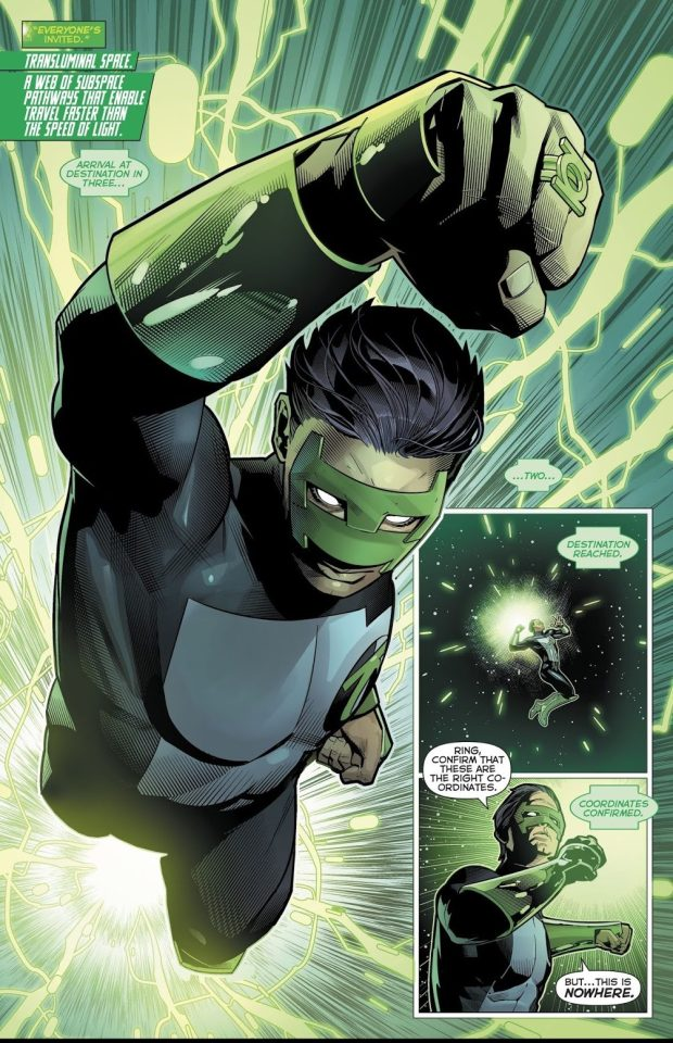 Kyle Rayner (Hal Jordan And The Green Lantern Corps #44)