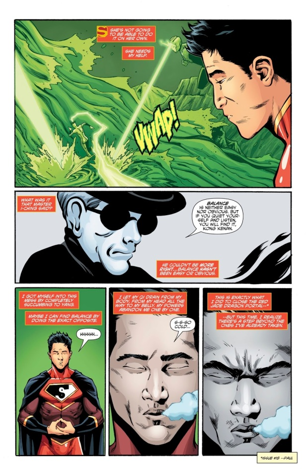 New Super-Man Defeats The Lantern Corps Of China