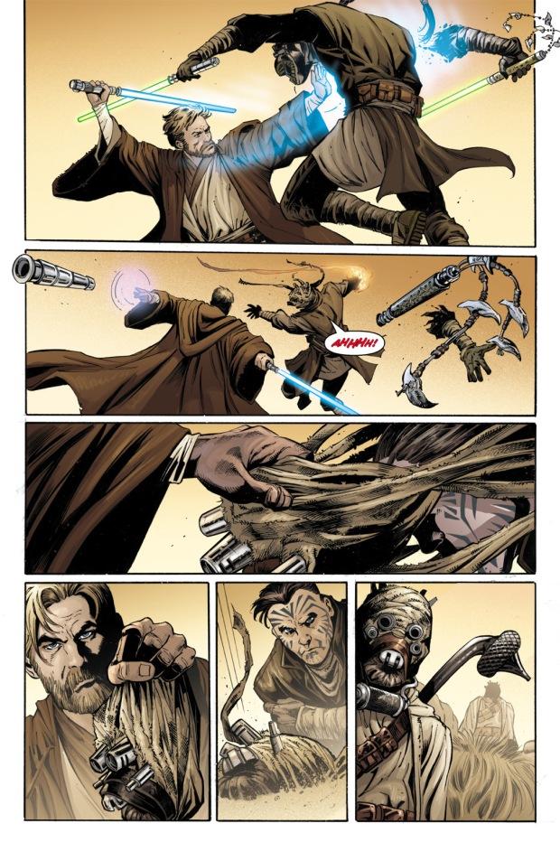 Obi-Wan Kenobi VS A'Sharad Hett