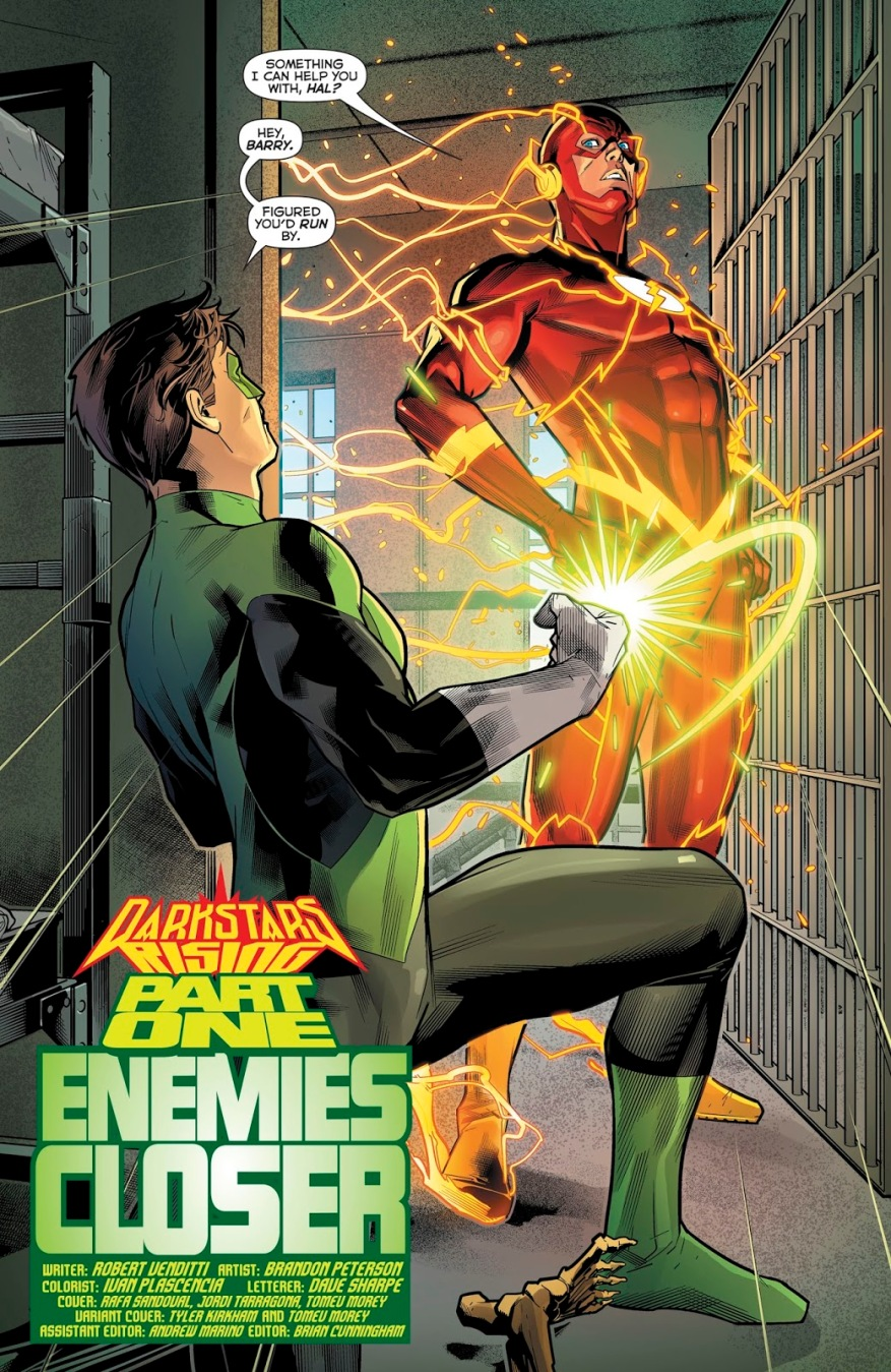 The Flash (Hal Jordan And The Green Lantern Corps #44)