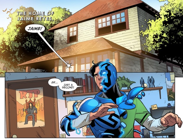 The Titans Recruit Blue Beetle (Injustice II)