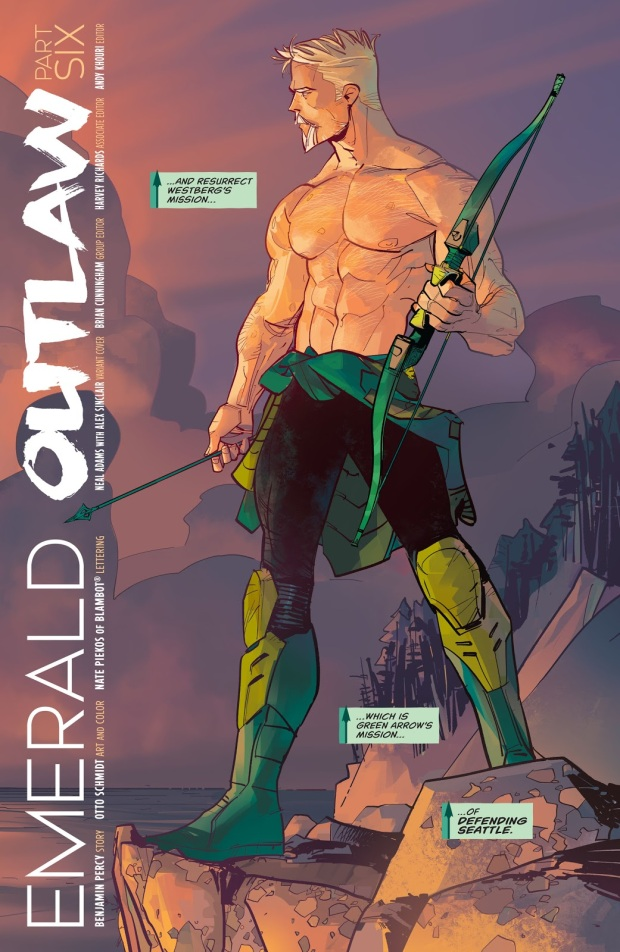 Why Green Arrow Prefers Bows Made From Yew