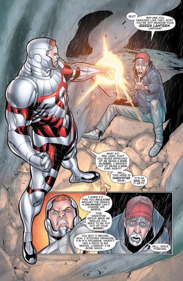 Arkillo Saves Guy Gardner's Father