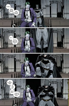 Batman Prays With The Joker