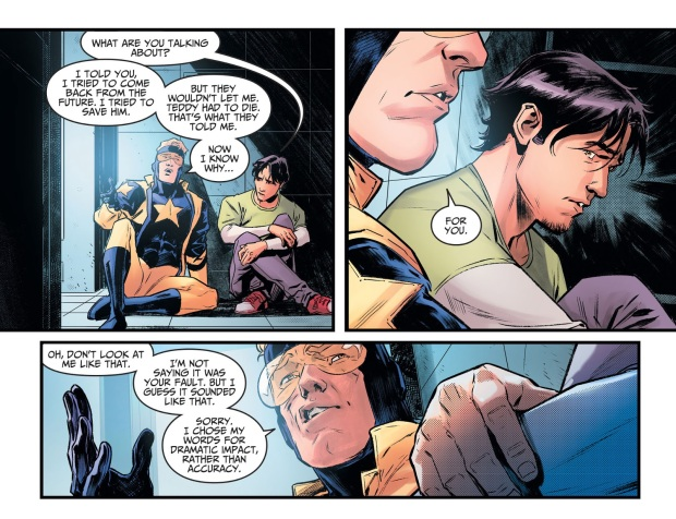 Booster Gold Bonds With Jaime Reyes (Injustice II)